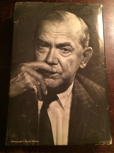 Dust jacket photo of Graham Greene, taken by some chap with the cool ass name Ottawa Karsh.
